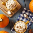 Autumn Pumpkin Spice Latte — Stock Photo #54150657
