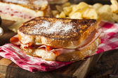 Homemade Monte Cristo Sandwich — Photo