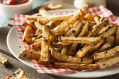 Healthy Organic Jicama Fries — Stock Photo