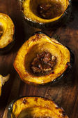 Homemade Roasted Acorn Squash — Stock Photo