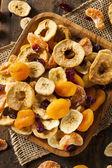 Organic Healthy Assorted Dried Fruit — Foto de Stock