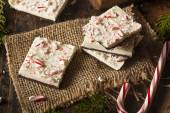 Homemade Holiday Peppermint Bark — Photo