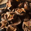 Hot Brown Roasted Chestnuts — Stock Photo #58616667