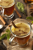 Homemade Hot Buttered Rum — Stock Photo
