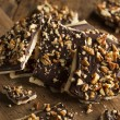 Homemade Chocolate English Toffee — Stock Photo #59987555
