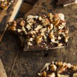 Homemade Chocolate English Toffee — Stock Photo #59987627