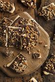 Homemade Chocolate English Toffee — Stock Photo