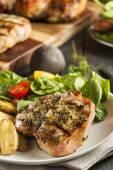 Large Grilled Pork Chop — Stock Photo