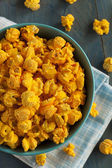 Homemade Cheddar Cheese Popcorn — Stock fotografie
