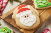 Homemade Christmas Sugar Cookies — Stock Photo