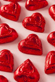 Chocolate Candy Heart Sweets — Stock Photo