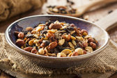 Raw Organic Homemade Trail Mix — Stock Photo
