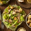 Healthy Grilled Chicken Caesar Salad — Stock Photo #63004281