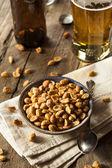 Homemade Honey Roasted Peanuts — Stock Photo