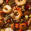 Spicy Homemade Cajun Jambalaya — Stock Photo #64397929