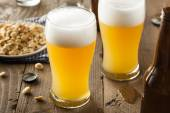 Resfreshing Golden Lager Beer — Stock Photo