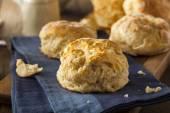 Homemade Flakey Buttermilk Biscuits — Stockfoto