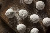 Homemade Sugary Donut Holes — Stock Photo