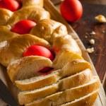 Homemade Greek Easter Bread — Stock Photo #67197075