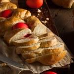 Homemade Greek Easter Bread — Stock Photo #67197203