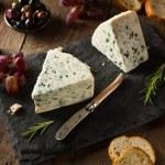 Organic Blue Cheese Wedge — Stock Photo #71796421