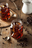 Homemade Cold Brew Coffee — Stock Photo
