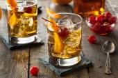 Homemade Old Fashioned Cocktail — Stock Photo