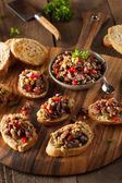 Homemade Mixed Olive Tapenade — Stok fotoğraf