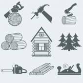 Woodworking — Stock Vector