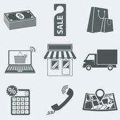 Shop — Stock Vector