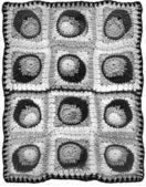 Crochet background — Stock Photo