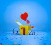 Romantic present — Stock Photo