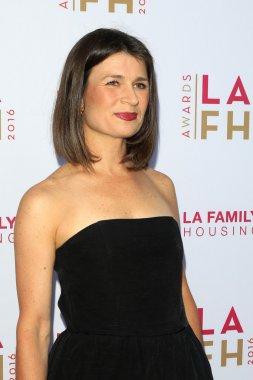 Actress Carrie Lazar