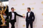 Jimmy Fallon, Derek Hough — Stock Photo