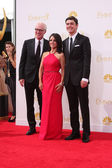 Brad Hall, Julia Louis-Dreyfus, Charles Hall — Stockfoto