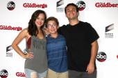 Hayley Orrantia, Sean Giambrone, Troy Gentile — Stock Photo