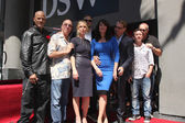 Katey Sagal, Married with Children Cast, Sons of Anarchy Cast — Stock Photo