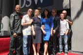 Katey Sagal, Married with Children Cast, Sons of Anarchy Cast — Foto Stock