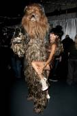 Chewbacca, Bai Ling — Stock Photo