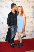 Lea Thompson, Artem Chigvintsev — Stock Photo