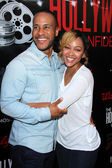 DeVon Franklin, Meagan Good — Stock Photo