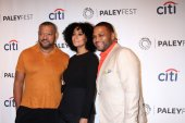 Lawrence Fishburne, Tracee Ellis Ross, Anthony Anderson — Stock Photo
