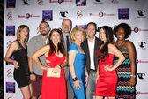 Anna Borchert, Heather Lee Moss - Leads, cast, crew — Stock Photo