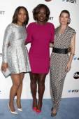 Kerry Washington, Viola Davis, Ellen Pompeo — Stock Photo