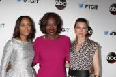 Kerry Washington, Viola Davis, Ellem Pompeo — Stock Photo