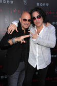 John Varvatos, Paul Stanley — Stock Photo