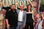 Nick Frost, Sir Ben Kingsley, Elle Fanning — Photo