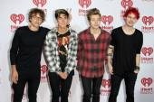 5 Seconds of Summer, Luke Hemmings, Calum Hood, Ashton Irwin, Michael Clifford — Stock Photo