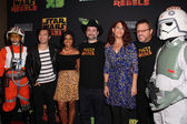Star Wars Rebels Cast — Stock Photo