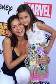 Constance Marie, Luna Marie Katich — Stock Photo